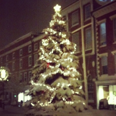 christmas tree in portsmouth