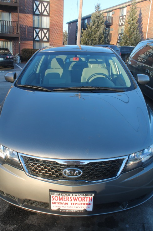 my new 2011 Kia Forte